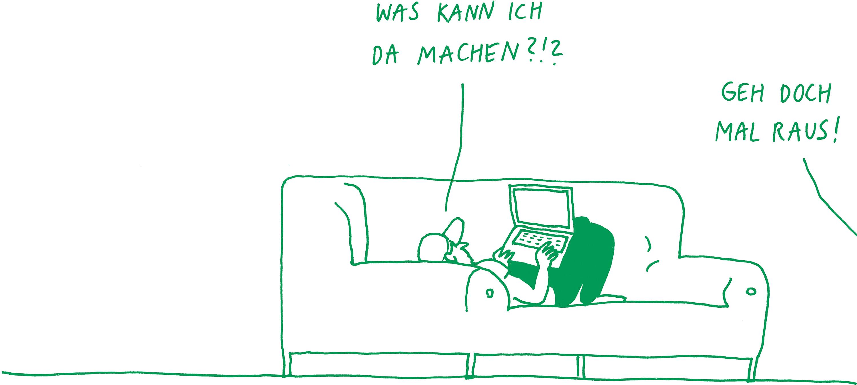 Illustration: Mitmachen